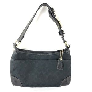 Coach Zippered Bleeker Hobo G0793-11431 Black Bag